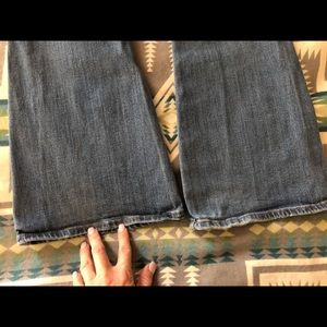 American Eagle Outfitters Pants - American Eagle bell bottoms boho artist jeans